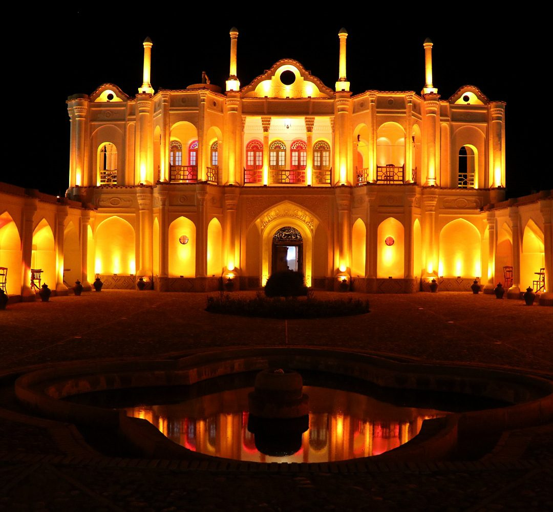 Fathabad garden-Kerman, on an Iran vegan tour