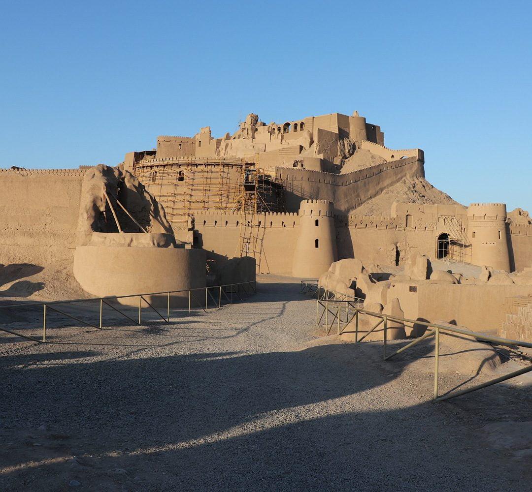 Vegan tour to Bam citadel in Kerman, Iran