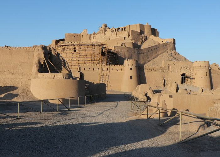 Vegan tour to Bam citadel in Kerman, Iran