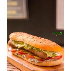 Vegan hotdog - Zamin restaurant in Tehran