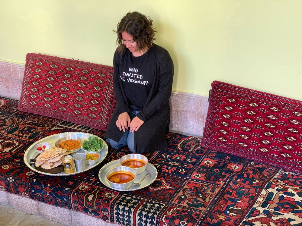 Shivya Nath on a vegan food tour