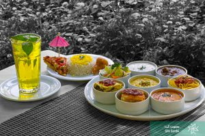 Main course of Iranian Artist Forum Restaurant- list of Tehran restaurants