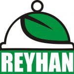 Logo of Reyhan vegetarian restaurant in Isfahan (Esfahan)