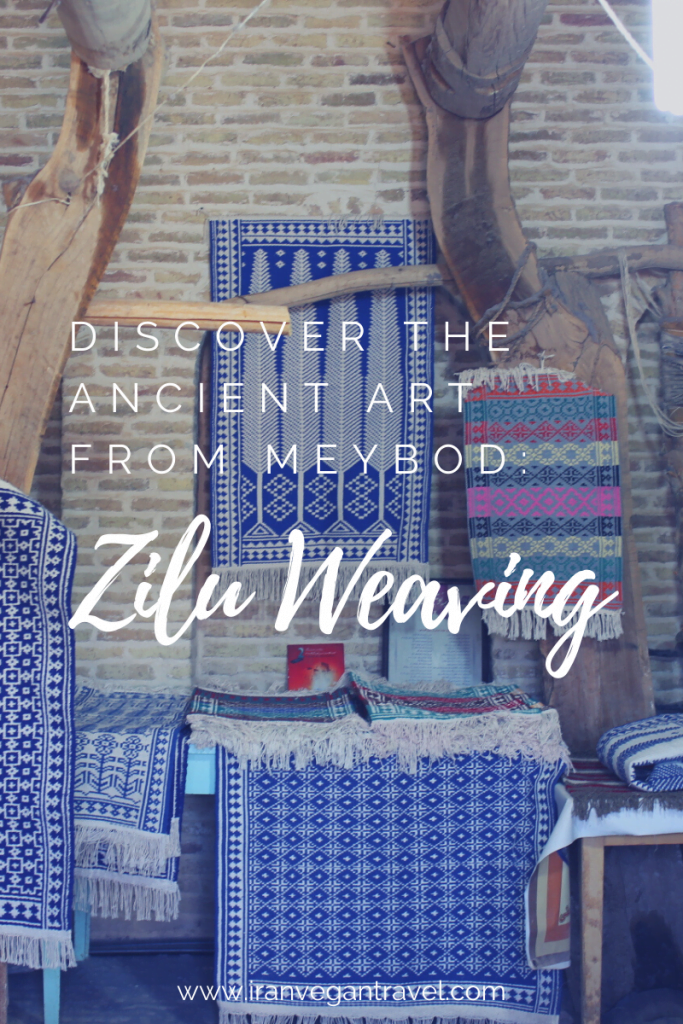 Zilu is an ancient, vegan Iranian handicraft from Meybod. Discover everything you need to know about it and get hands on while visiting a workshop with us!