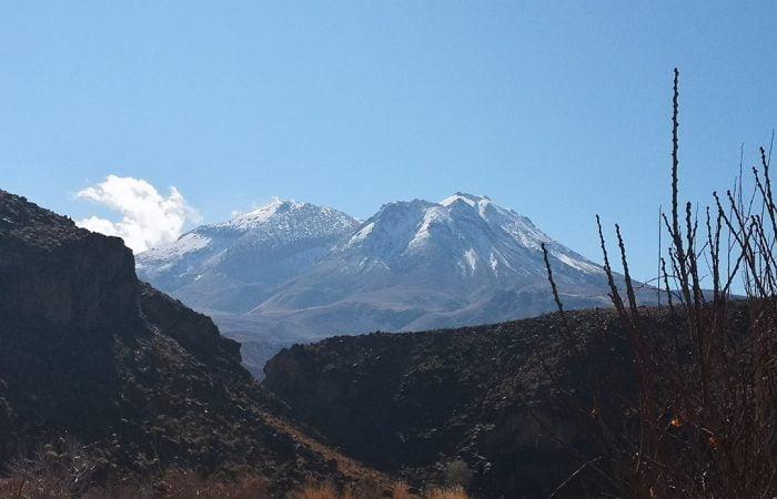 Iran's Taftan mountain, an active volcano in Sistan & Baluchestan- Iran Vegan Travel