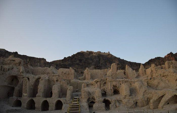 Mount Khajeh in lake Hamun- Iran Vegan Travel