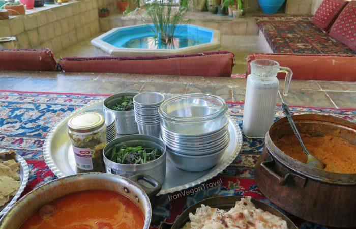 Persian Dizi on Iran Vegan Food Tour