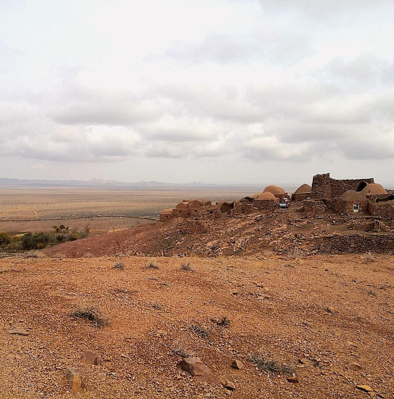 Vegan tour to Ashin desert village in Iran